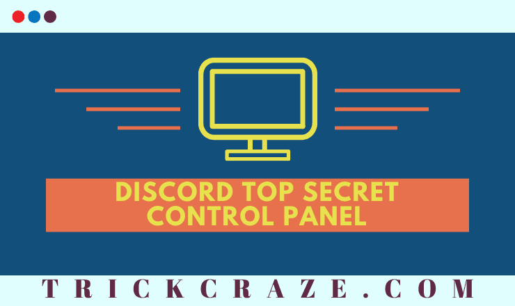 Discord Top Secret Control Panel